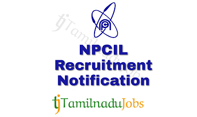 NPCIL Recruitment notification of 2018