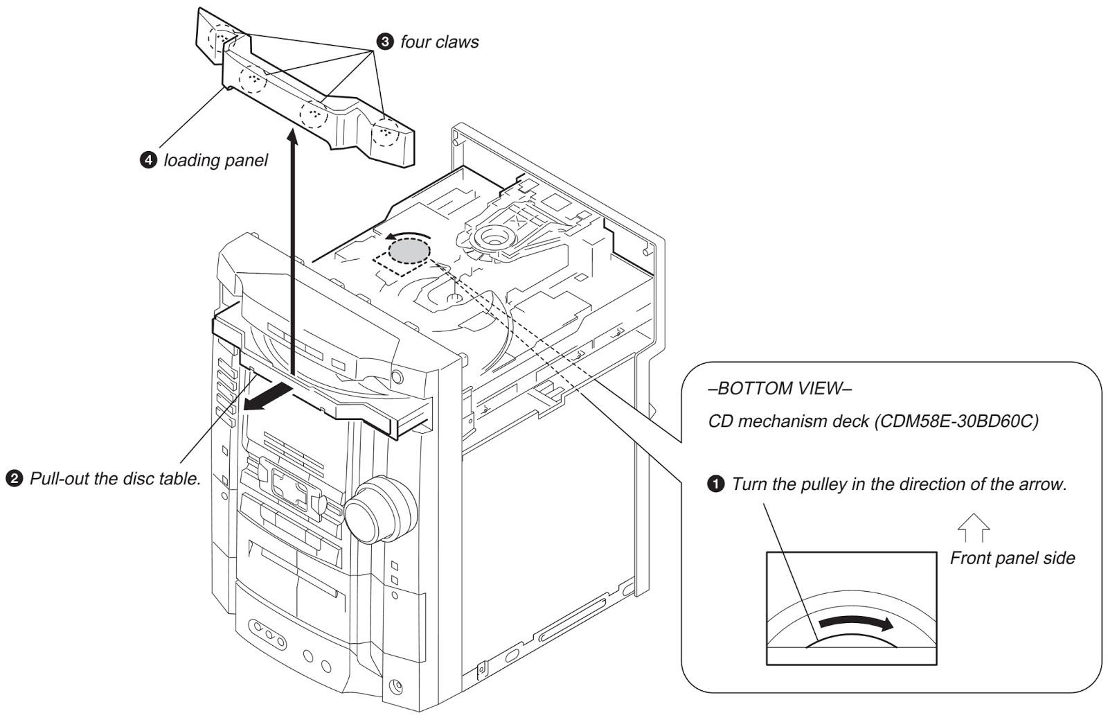 sony hcdzux10d diagram
