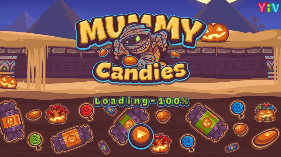 Mummy Candies Kizi 4