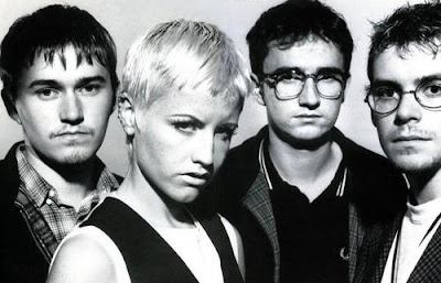 Rostros de integrantes de The Cranberries