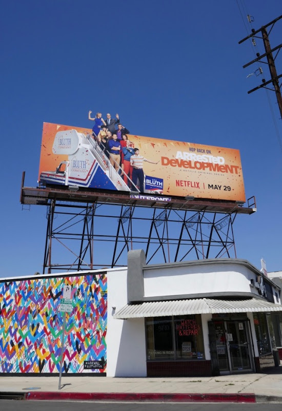 Arrested Development season 5 special extension billboard
