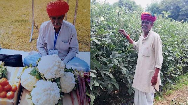 गोभी के फूल ने दिलाया राजस्थान के किसान जगदीश पारीक को 'पद्मश्री'