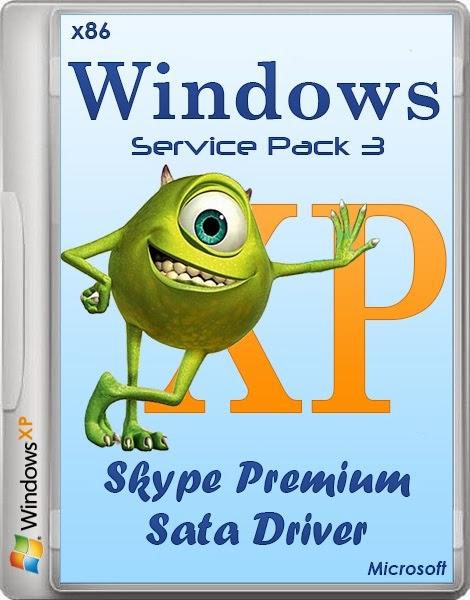 Windows Xp Professional SP3 Skype Premium + Sata Driver