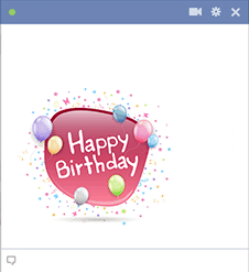 For Facebook Birthday Emoji Emoticons Chat Irthday Comments
