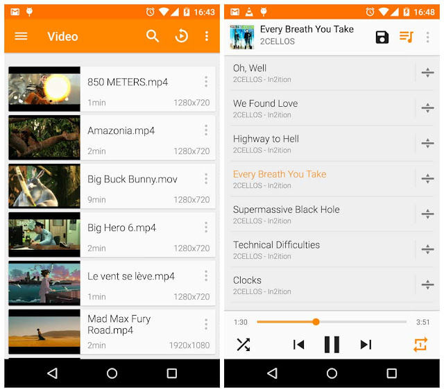 Download APK vlc for android