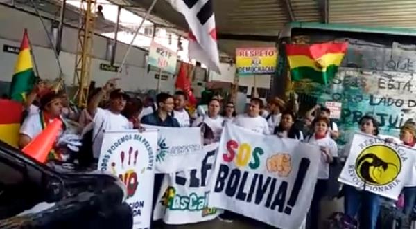 Plataformas ciudadanas llegaron a Lima este jueves / RRSS