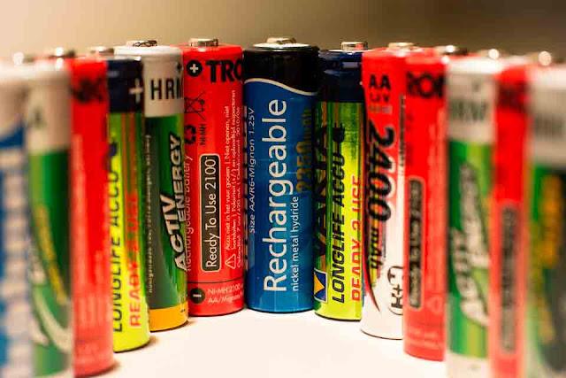 Jenis-jenis Baterai, Fungsi dan Penjelasannya
