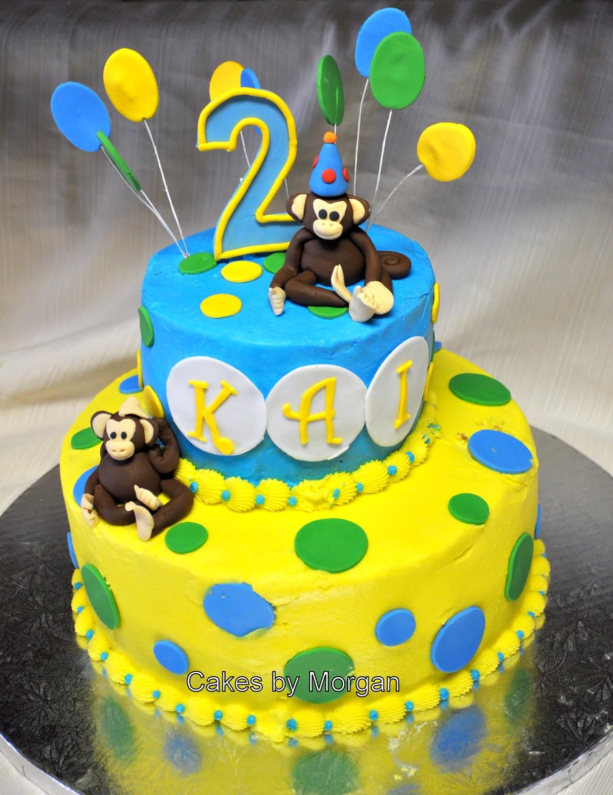Morgan's Cakes: Monkey Cake