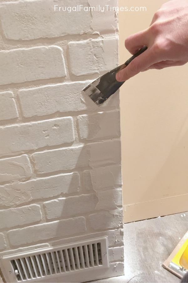 faux bricks texture