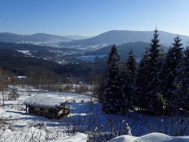 Jest pięknie - zima w Beskidach!