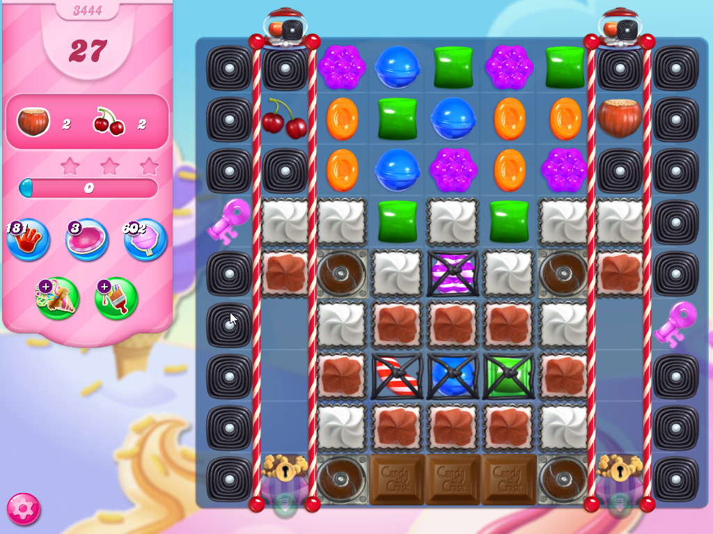 Candy Crush Saga level 3444