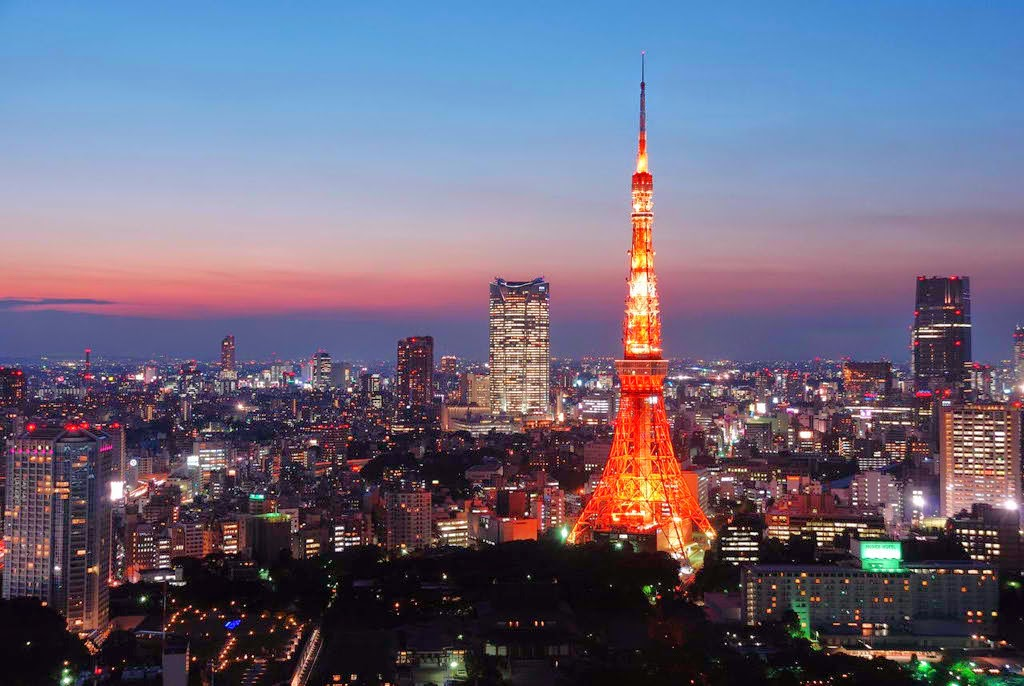 tokyo-tower-sunset