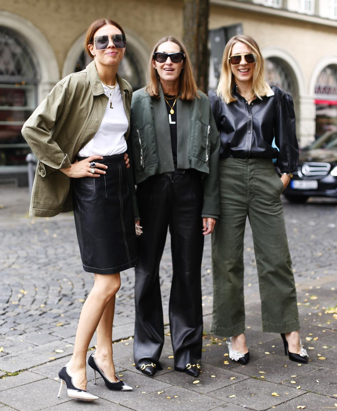 Olive Green is the Perfect Transitional Color for Summer to Fall