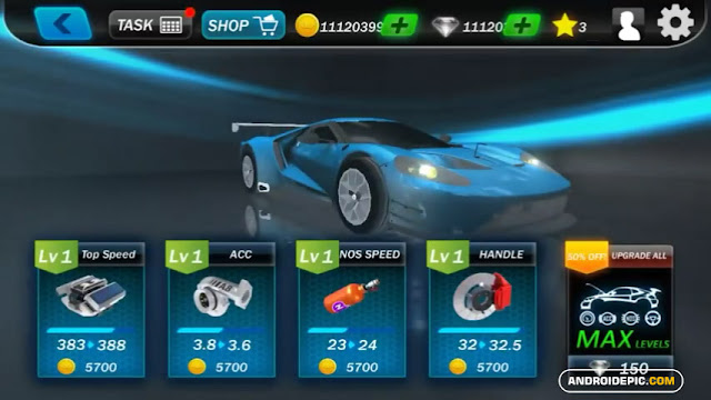 Street Racing 3D mod apk android1 ini sudah dimodifikasi sehingga menjadi free shopping, dengan Game Mod ini kalian bebas membeli mobil balap yang kalian suka gratis.