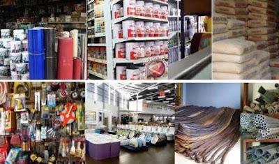 list data alamat supplier, distributor, toko bahan bangunan se-Malang