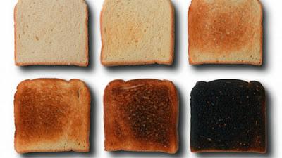acrilamida en pan de molde