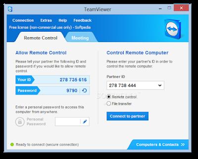 تحميل برنامج تيم فيور لتوصيل أجهزة الكمبيوتر ببعضها مجانا TeamViewer