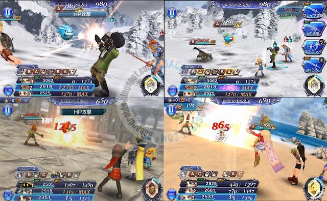 Disidia Final Fantasy Opera Omnia Android Terbaru Rilis