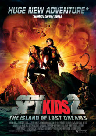 Spy Kids 2 Island of Lost Dreams 2002 BluRay 700MB Hindi Dual Audio 720p Watch Online Full Movie Download bolly4u