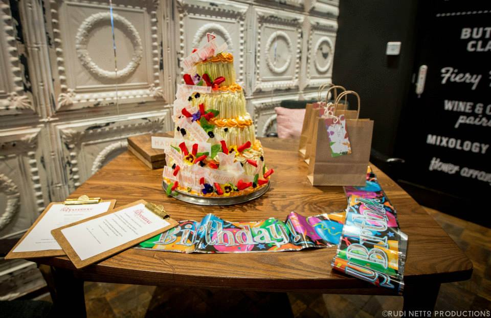 A 1st birthday party (for adults) at The Happenstance