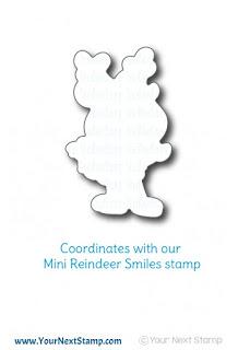 Mini Reindeer Smiles Die