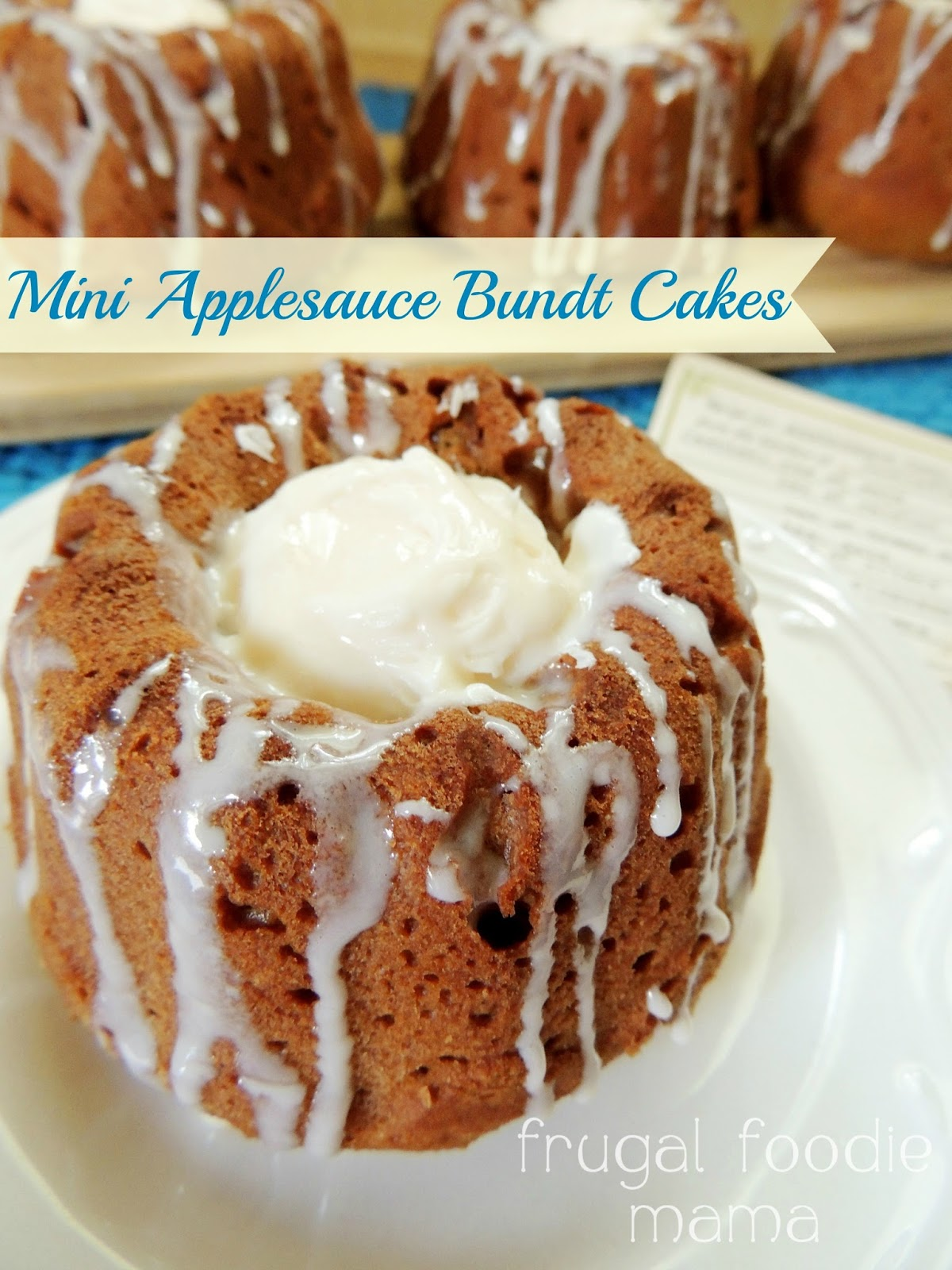 Honey Bun Cake Recipe With Applesauce