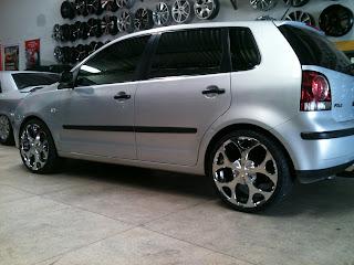 trigueiro rodas store 84 32233905 vw polo rodas chrome r18. Black Bedroom Furniture Sets. Home Design Ideas