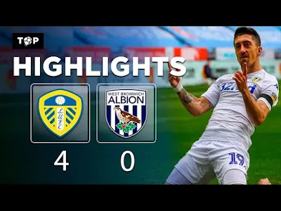 Leeds vs West Brom 4-0 Football Highlights and Goals 2019