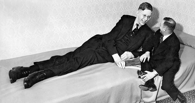 Fotografías de Robert Wadlow, el hombre más alto de la historia