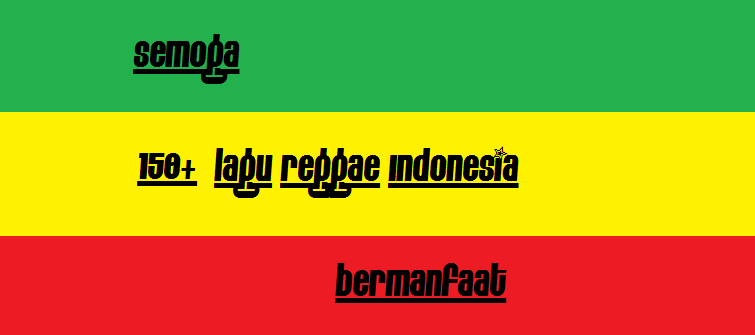 download lagu reggae indonesia terbaik