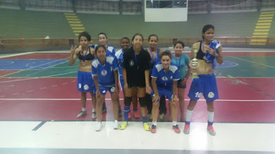 Juquiá conquista 2ª colocação no Torneio Sport Fênix de Futsal Feminino