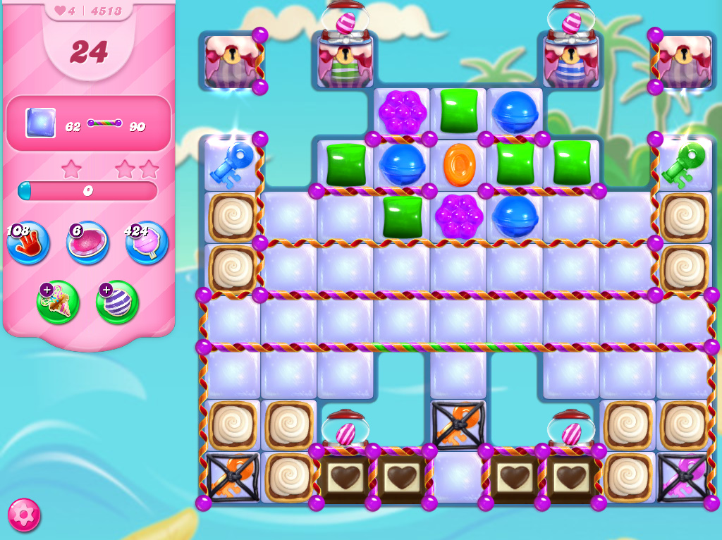 Candy Crush Saga level 4513