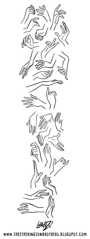 Female Hand Drawing Reference : female, drawing, reference, Etherington, Brothers:, Female, References