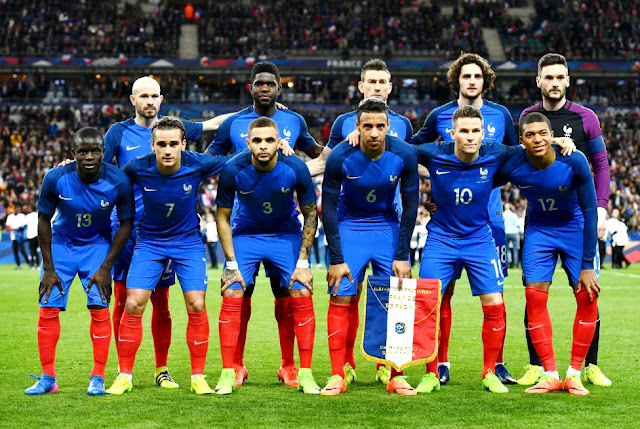 Resultado de imagen para seleccion de francia 2017