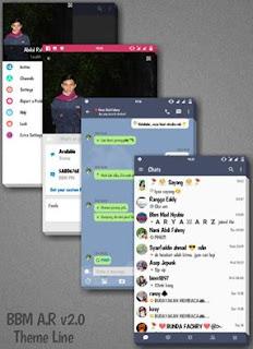 BBM MOD Line v3.0.1.25 Apk Terbaru