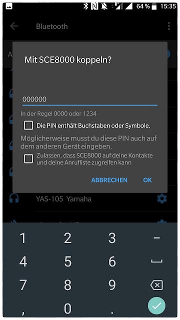 In der Regel funktioniert das Standard-Passwort für die Shimano-App