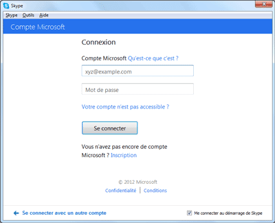 Boîte de réception Outlook (mail hotmail.fr) pas de