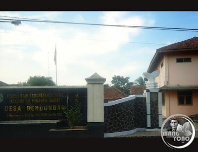 Gor Desa Bendungan, Kecamatan Pagaden barat, Subang