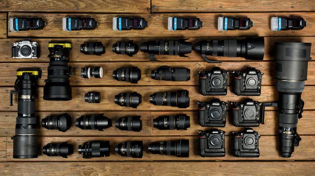 Peralatan Fotografi Joe McNally, Foto dari Website NikonUSA