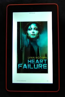 Heart Failure displayed on a Kindle Fire 7