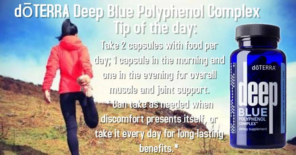 Natural Earth Oils Deep Blue Polyphenol Complex