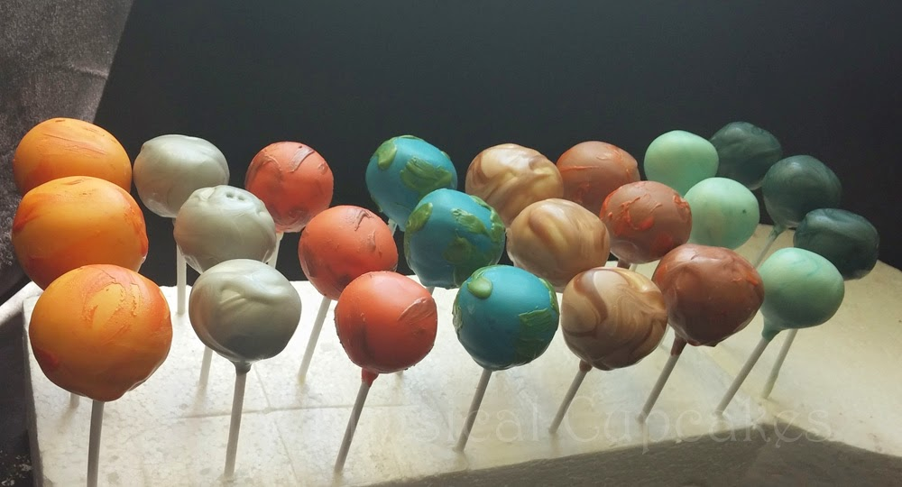 Whimsical Space Themed Party Bakes