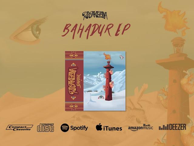 Poster Promosional Perilisan Digital EP Bahadur