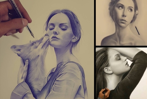 00-Hisham-Albayyat-Pen-Pencil-and-Charcoal-Portrait-Drawings-www-designstack-co