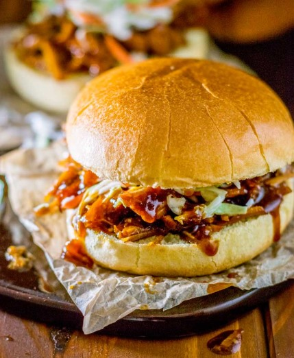 SWEET CROCK POT PULLED PORK