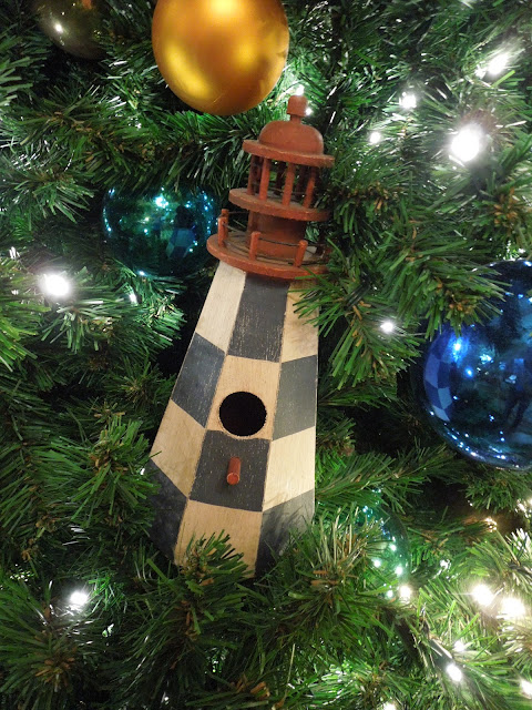 Yacht Club tree ornament