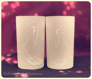 Graveeritud klaasid: Hõissa pulmad!