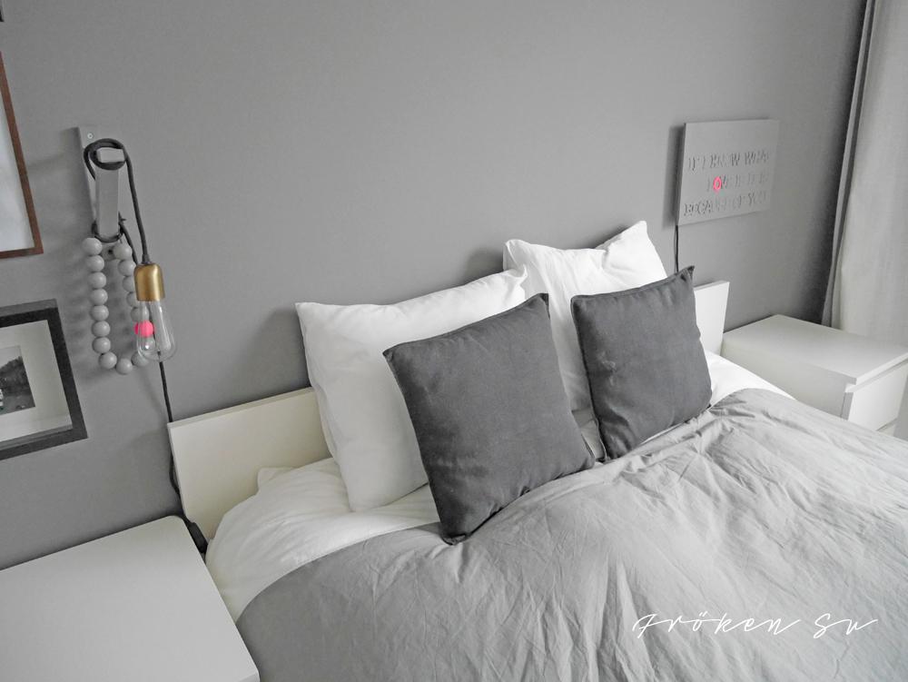 Unser Schlafzimmer Mit Zwei Neuen Lampen