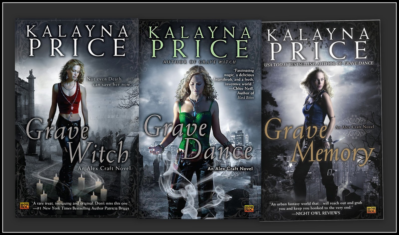 Fang Tastic Fiction Kalayna Price Alex Craft Series