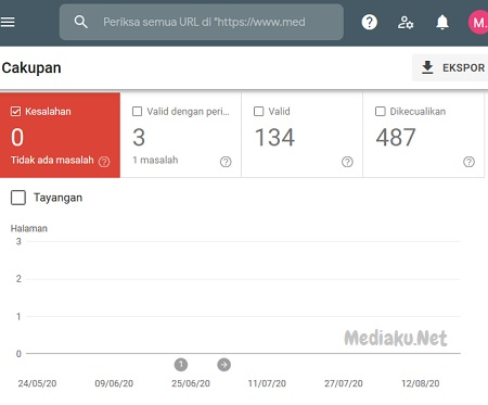Memantau Kesalahan Di Google Webmaster Tools